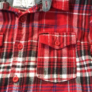 on the byas Shirts - Red Flannel